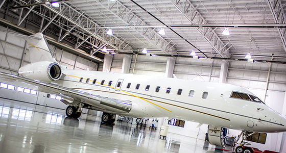 Private Air Craft Hanger